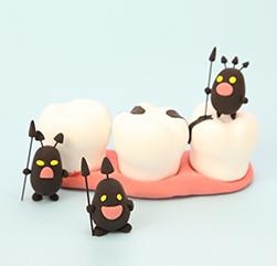 虫歯の健康とメカニズム